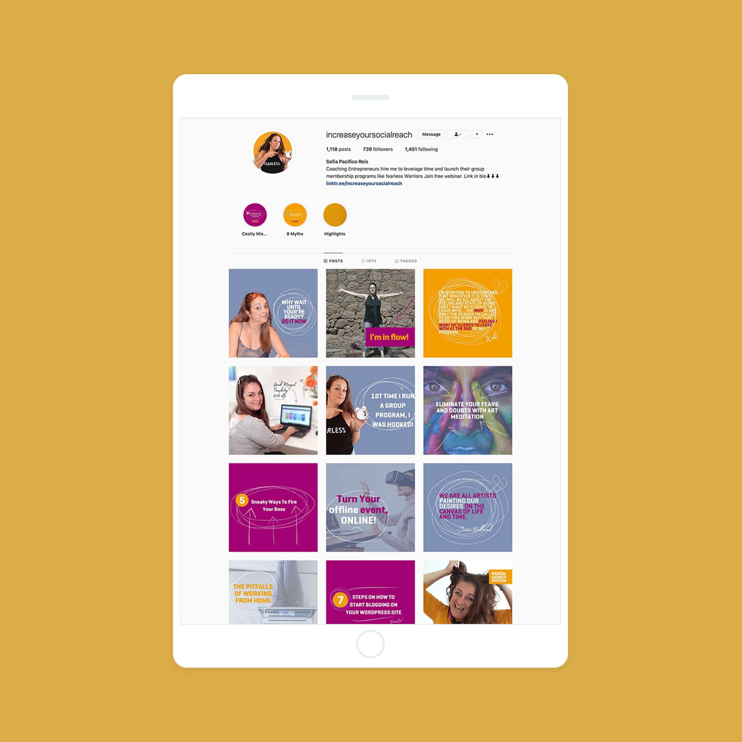 Build Your Community Instagram Feed