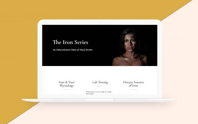 Landing Page Design for Nadia Rizzo